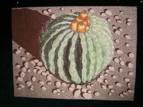 Barrel Cactus quilt
