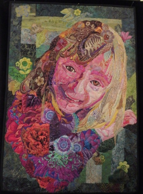 A portrait of my grandaughter, Emily, made using the co